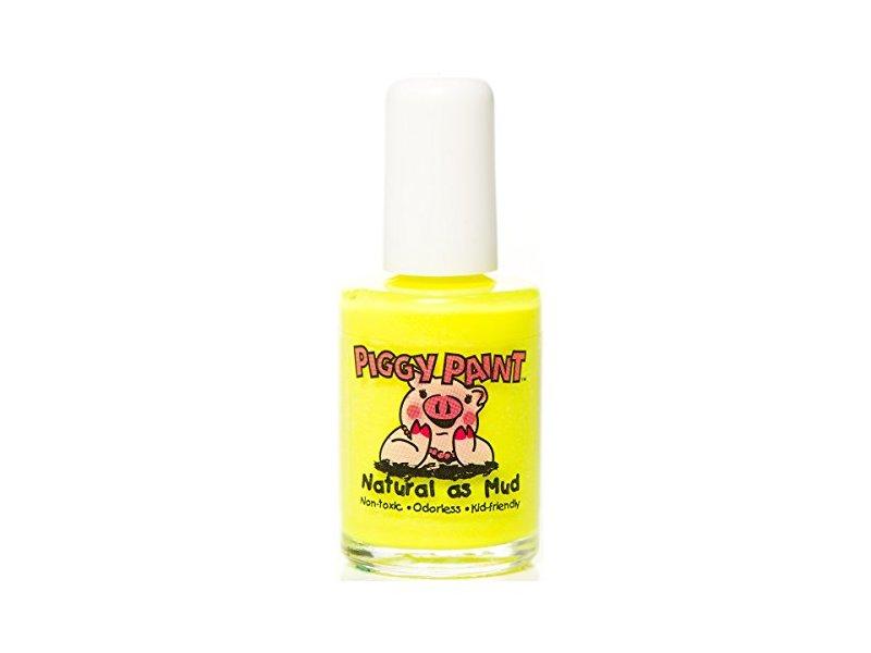 Piggy Paint Natural as Mud, Yellow, 0.5 fl oz