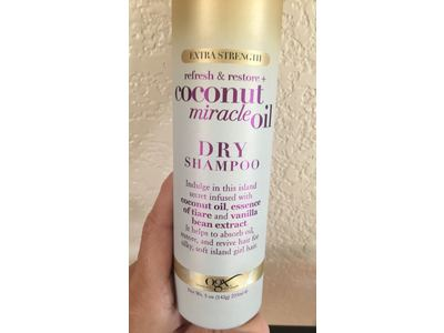 OGX Coconut Miracle Oil Dry Shampoo, 5 oz - Image 3
