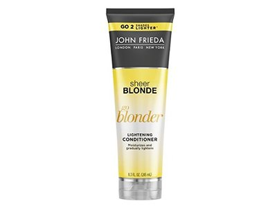 John Frieda Sheer Blonde Go Blonder Lightening Conditioner, 8.3 Fl Oz