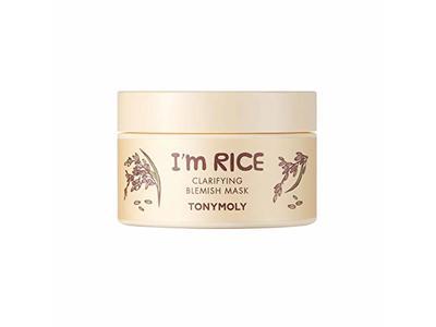 Tonymoly I'm Rice Clarifying Blemish Mask, 3.3 oz/100 mL