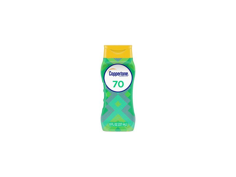 Coppertone Ultra Guard Sunscreen Lotion Broad Spectrum SPF 70