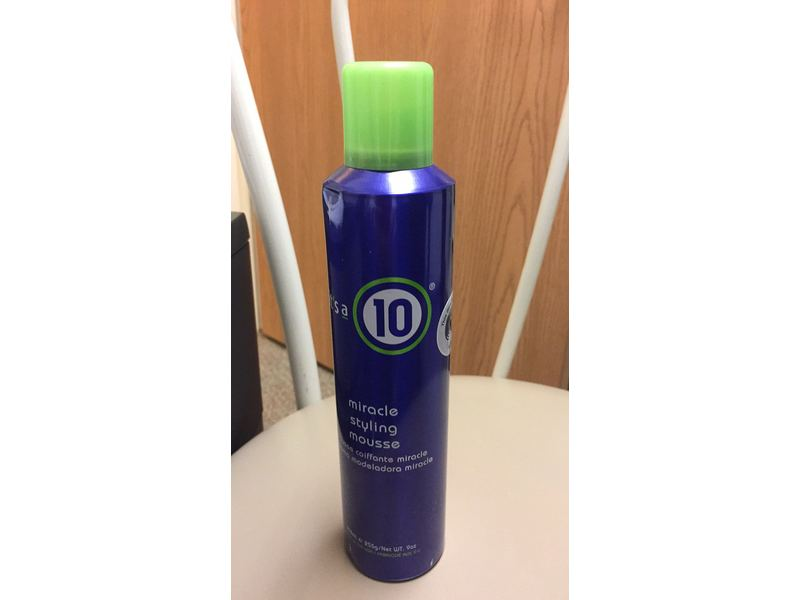 It S A 10 Miracle Styling Mousse 9 Fluid Oz Ingredients