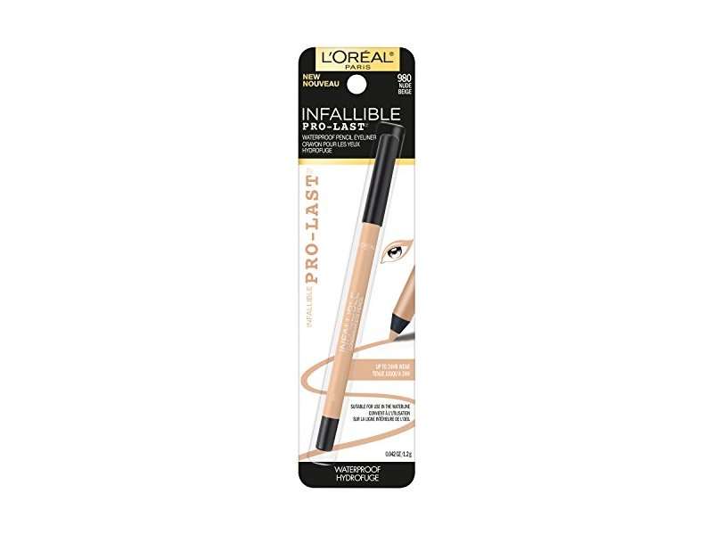 L'Oreal Paris Cosmetics Infallible Pro-Last Waterproof Pencil Eyeliner, Nude, 0.042 Ounce
