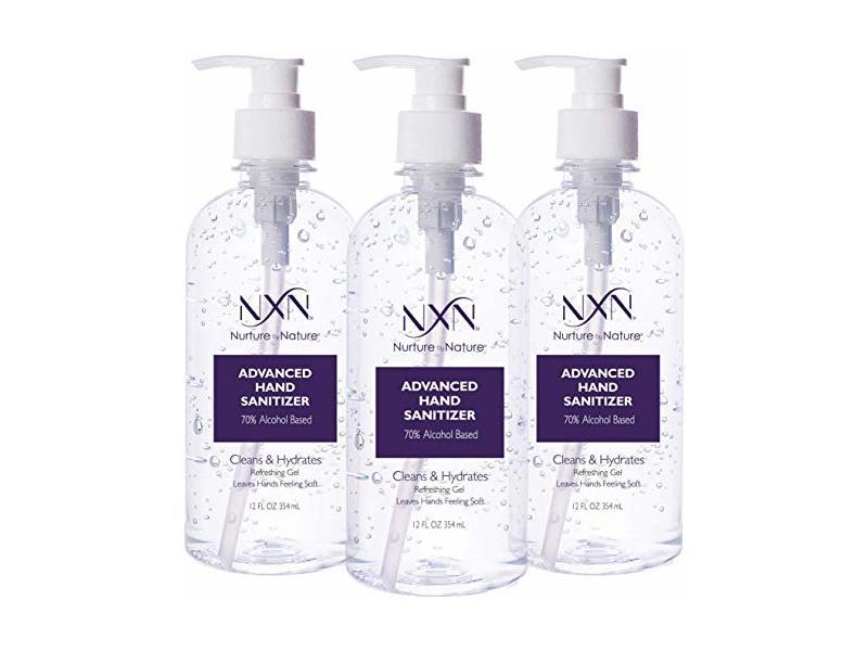 NxN Beauty Advanced Hand Sanitizer Refreshing Gel, 12 OZ