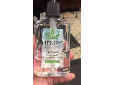Hempz Triple Moisture Herbal Moisturizing Hand Sanitizer, 8.5 Ounce - Image 3