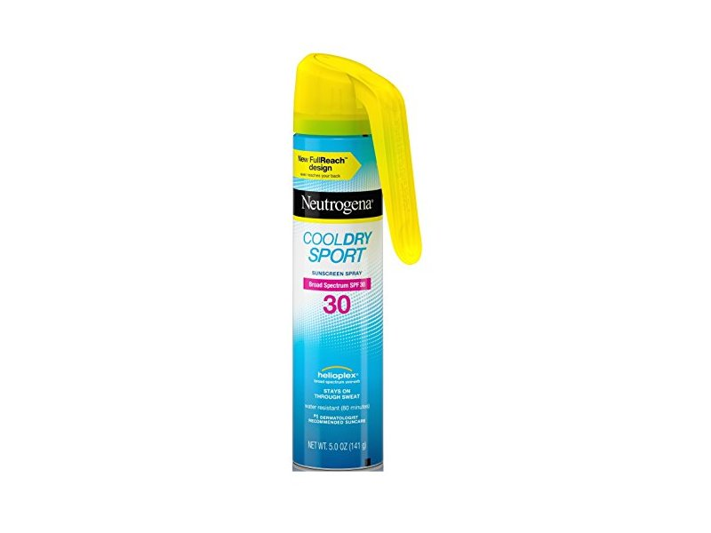 Neutrogena Cool Dry Spf 30 Sport Full Reach Spray, 5 Ounce