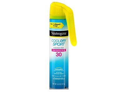 Neutrogena Cool Dry Spf 30 Sport Full Reach Spray, 5 Ounce