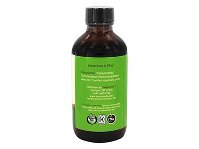 Inesscents Aromatic Botanicals Golden Jojoba Oil, 4 fl oz - Image 3