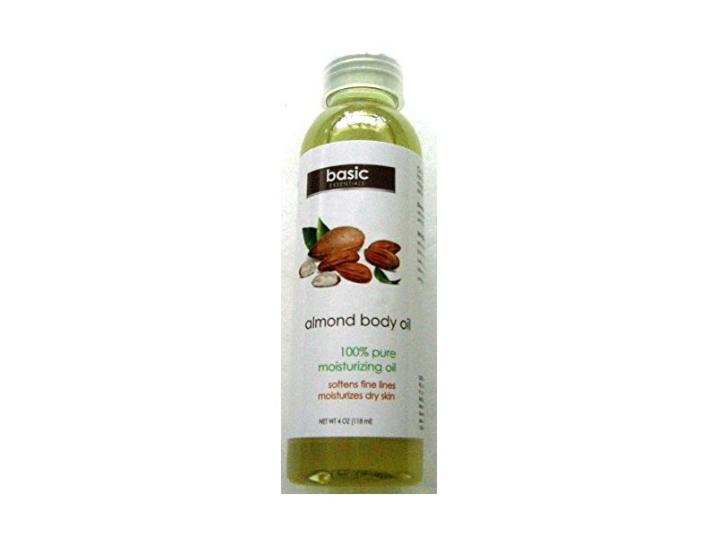 Basic Almond Body Oil, 4 oz