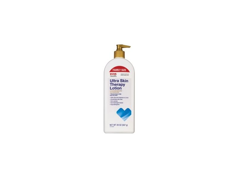 CVS Health Ultra Skin Therapy Lotion With Aloe