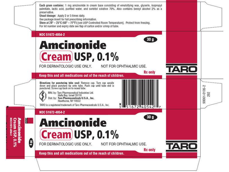Amcinonide 0.1% Topical Cream (RX) 15 Grams, Taro Pharmaceuticals