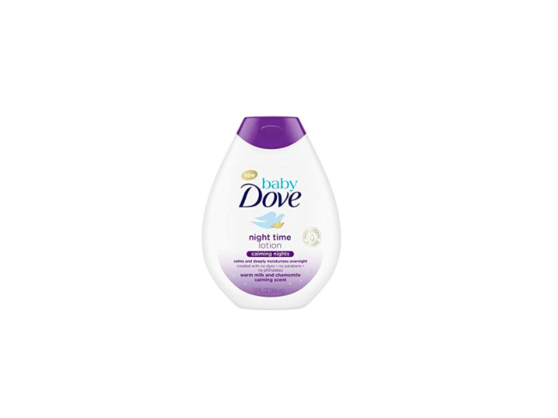 Baby Dove Nighttime Baby Lotion, 13 oz