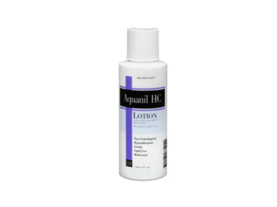 Aquanil HC Lotion, 4 oz, Person And Covey