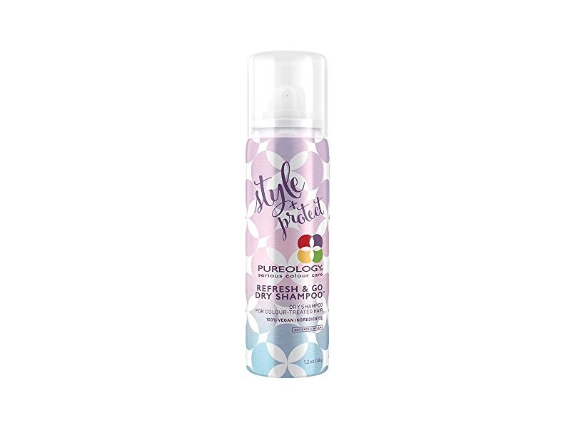 Pureology Style + Protect Refresh & Go Dry Shampoo, 1.2 Ounce