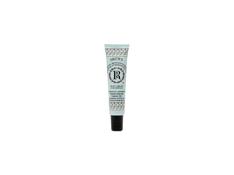 Rosebud Perfume Co. Smith's Balm Tube, Menthol & Eucalyptus, 0.5 oz
