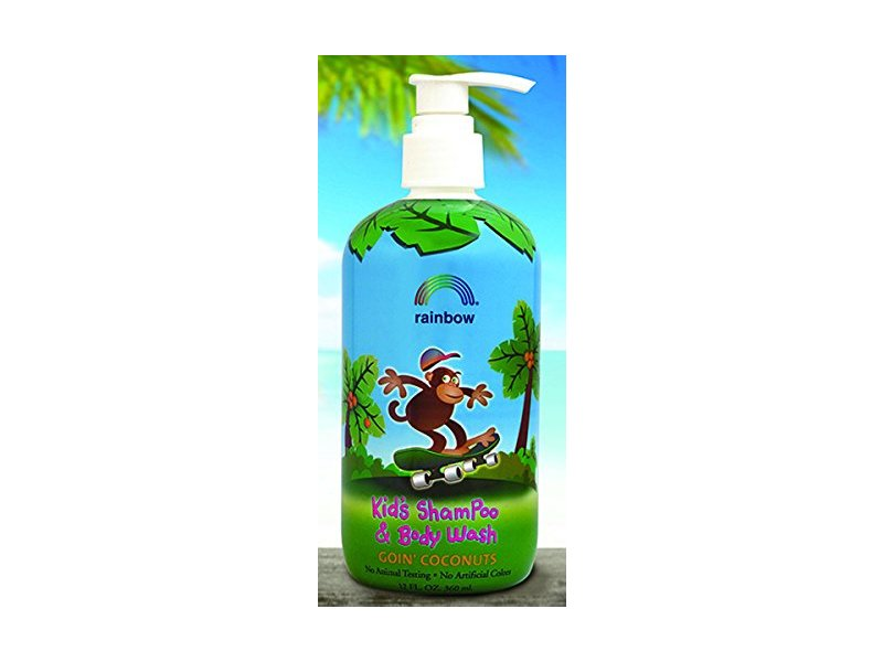 Rainbow Research, Kids Shampoo and Body Wash, Goin' Coconuts, 12 fl oz