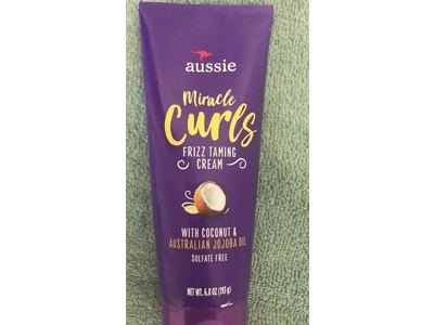 Aussie Miracle Curls Frizz Taming Cream, 6.8 Ounce - Image 3