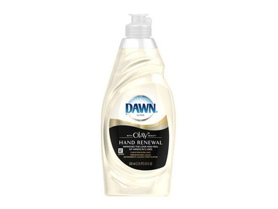 Dawn Ultra Dishwashing Liquid with Olay, Tropical Shea Butter Scent, 18 fl oz - Image 1