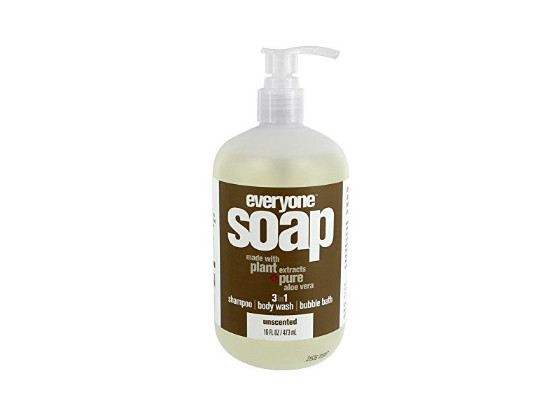 EO Products Everyone 3-in-1 Unscented Soap, 16 oz