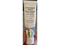 Pacifica Coconut Milk Cream To Foam Face Wash, 1.4 fl oz/40 ml - Image 3