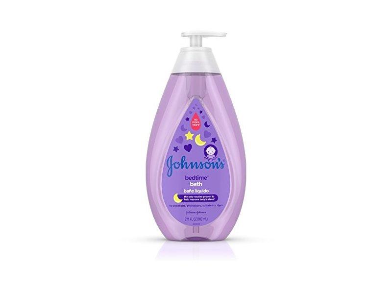 Johnson's Bedtime Baby Bath, Soothing Aromas, 27.1 fl oz