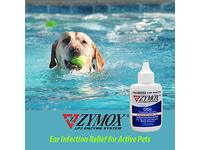 Zymox Otic Enzymatic Solution, 1% Hydrocortisone, 1.25 fl oz (for animal use only) - Image 9