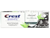 Crest 3D White Whitening Therapy Toothpaste, Charcoal & Tea Tree Oil, 4 fl oz/116 g - Image 2