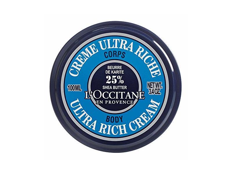 L'Occitane En Provence 25% Shea Butter Ultra-Rich Body Cream, 100 mL