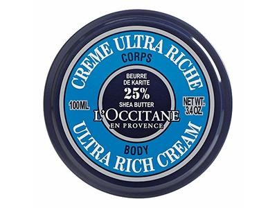 L'Occitane En Provence 25% Shea Butter Ultra-Rich Body Cream, 100 mL