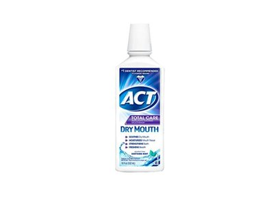 Act Total Care Rinse Dry Mouth - 18 Oz, Pack of 6
