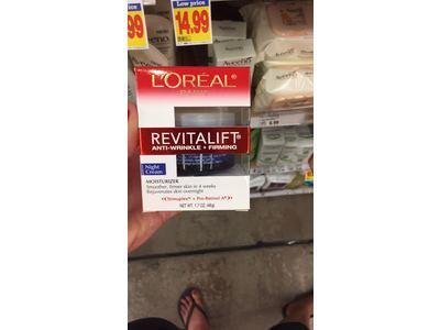 L'Oreal Paris RevitaLift Complete Night Cream, 1.7 Fluid Ounce - Image 6