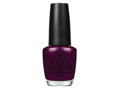 OPI Nail Lacquer, Black Cherry Chutney, 0.5 oz