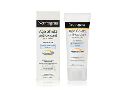 Neutrogena Age Shield Face Lotion Sunscreen Broad Spectrum SPF 70, Johnson & Johnson