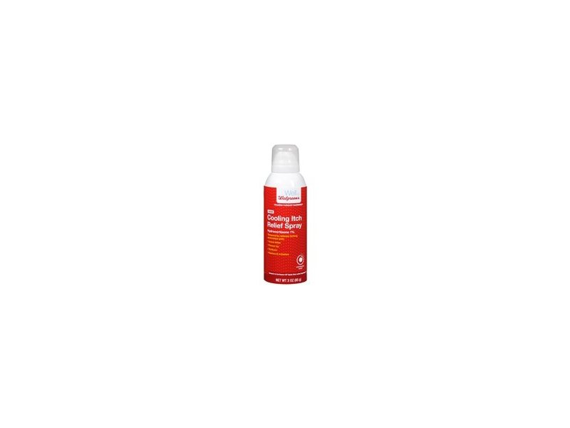 Walgreens Cooling Itch Relief Spray, 3 oz