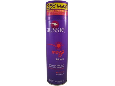 Aussie Mega Aerosol Hairspray, Procter & Gamble