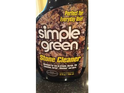 Simple Green Stone Cleaner 32 Fl Oz Ingredients And Reviews