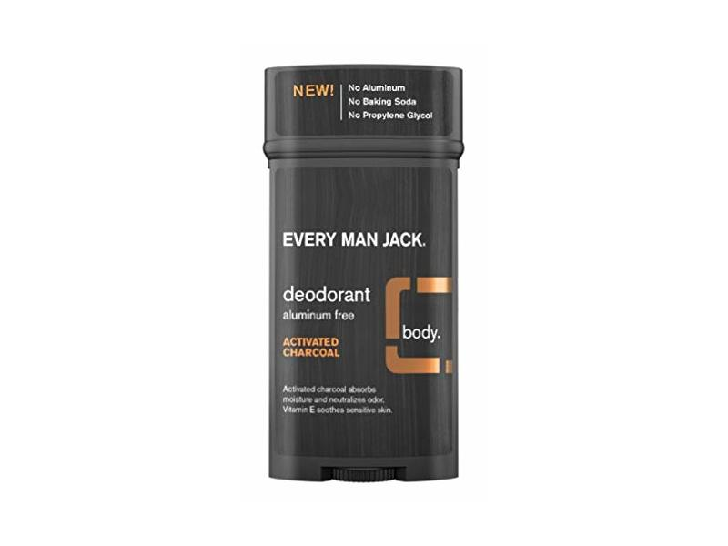 Every Man Jack Deodorant, Activated Charcoal, 2.7 oz