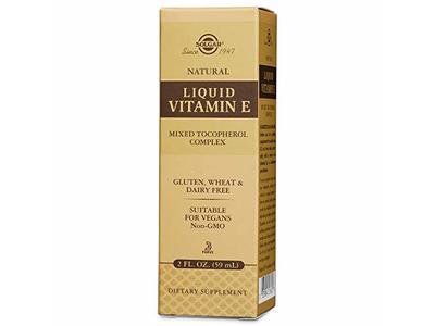 Solgar Liquid Vitamin E, 2 Ounce