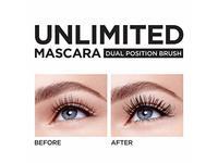 L'Oréal Paris Makeup Unlimited Lash Lifting and Lengthening Washable Mascara, Blackest Black, 0.24 fl. oz. - Image 8