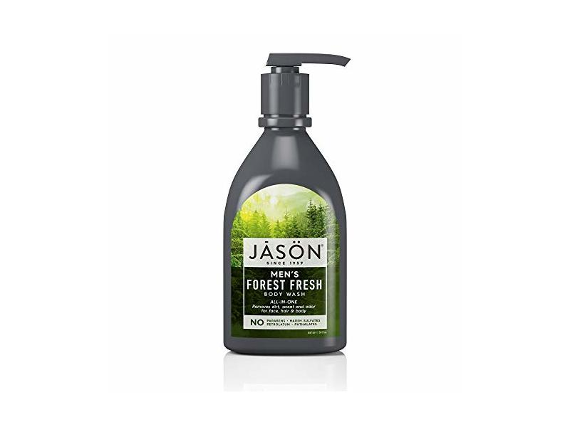 JASON Men's Forest Fresh All-In-One Body Wash, 30 oz