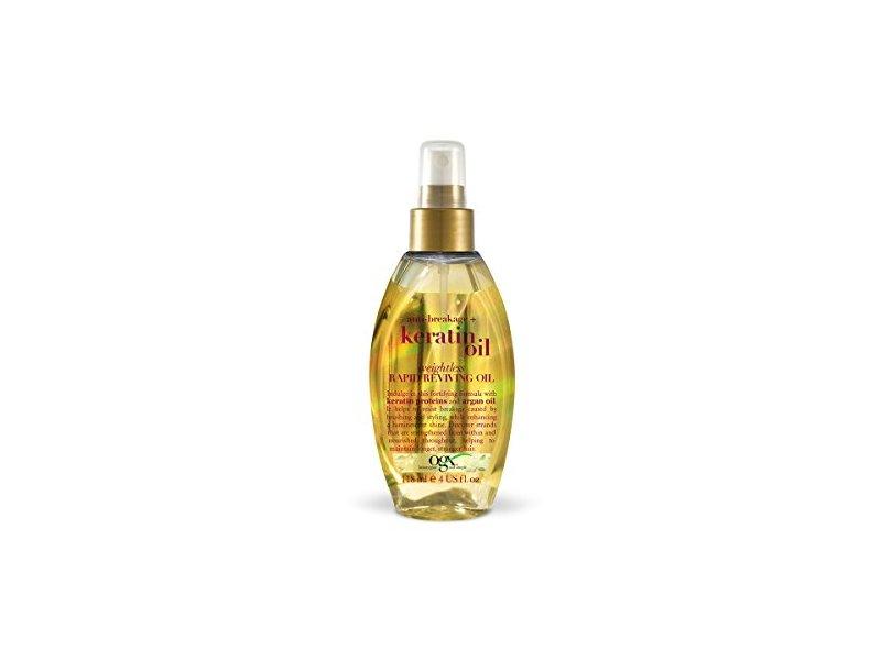OGX Anti-breakage + Keratin Oil Weightless Rapid Reviving Oil, 118 ml
