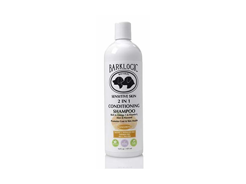 BarkLogic Sensitive Skin 2 in 1 Conditioning Tangerine Dog Shampoo