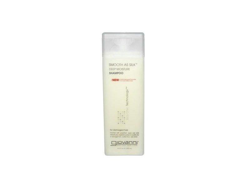 Giovanni Smooth As Silk Deep Moisture Organic Shampoo, 8.5 fl oz