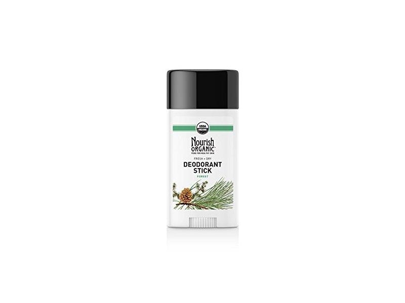 Nourish Organic Fresh + Dry Deodorant Stick, Forest, 2.2 Ounce