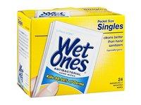 Wet Ones Antibacterial Hand Wipes Pocket Size Singles Citrus Scent, 24 CT - Image 2