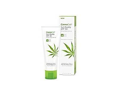 Andalou Naturals CannaCell Sun Buddy Facial, SPF 30, 2.7 oz
