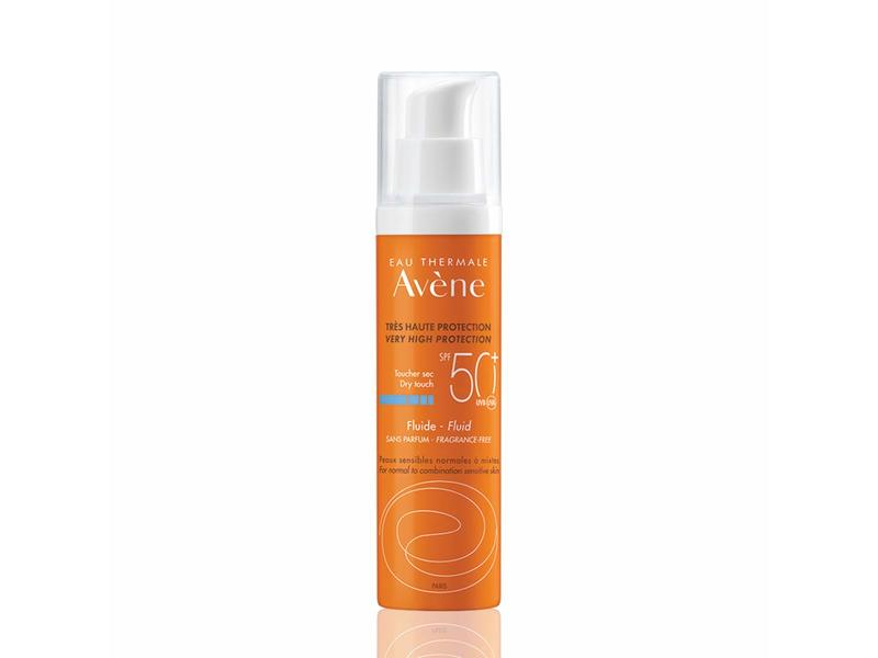 Eau Thermale Avene Very High Protection Fluid, Spf 50+, 50 ml