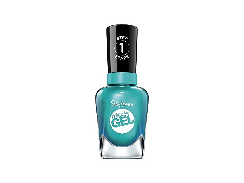 Sally Hansen Miracle Gel Nail Color, Combustealble, 0.5 fl oz