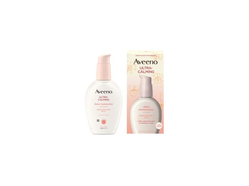 Aveeno Ultra-Calming Daily Facial Moisturizer with SPF 15