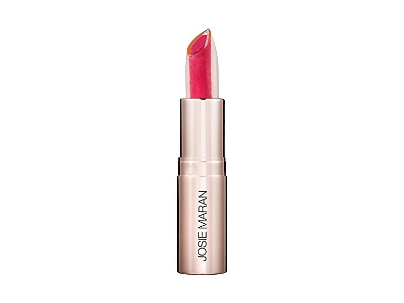 Josie Maran Argan Love Your Lips Hydrating Lipstick, Fuchsia Frolic, .12 oz